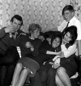 1963PartyAtLesBaker's